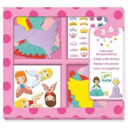CREATE WITH STIKERS -  I LOVE PRINCESSES