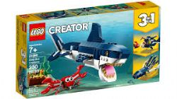 CREATOR -  DEEP SEA CREATURES (3 IN 1) (230 PIECES) 31088