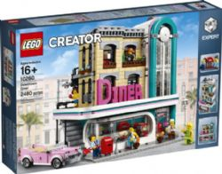CREATOR -  DOWNTOWN DINER (2480 PIECES) 10260
