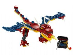 CREATOR -  FIRE DRAGON (234 PIECES) 31102