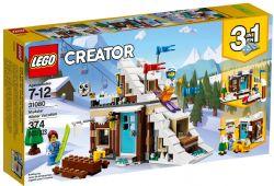 CREATOR -  MODULAR WINTER VACATION (374 PIECES) 31080