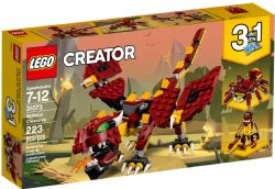 CREATOR -  MYTHICAL CREATURES (3 IN 1) (223 PIECES) 31073