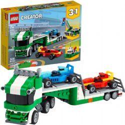 CREATOR -  RACE CAR TRANSPORTER (328 PIECES) 31113