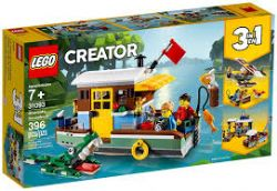 CREATOR -  RIVERSIDE HOUSEBOAT (3 IN 1) (396 PIECES) 31093