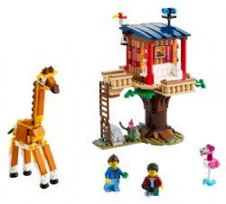 CREATOR -  SAFARI WILDLIFE TREE HOUSE (397 PIECES) 31116