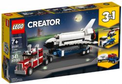 CREATOR -  SHUTTLE TRANSPORTER (3 IN 1) (341 PIECES) 31091