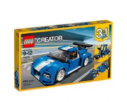CREATOR -  TURBO TRACK RACER (3 IN 1) (664 PIECES) 31070