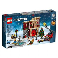CREATOR -  WINTER VILLAGE FIRE STATION (1166 PIECES) 10263
