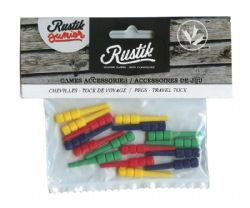 CRIBBAGE -  16 PEGS TRAVEL TOCK