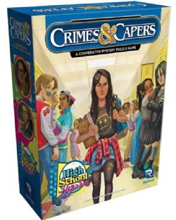 CRIMES AND CAPERS -  HIGH SCHOOL HIJINKS (ENGLISH)