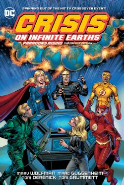 CRISIS ON INFINITE EARTHS -  PARAGONS RISING DELUXE EDITION HC