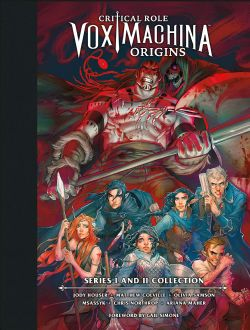 CRITICAL ROLE -  VOX MACHINA ORIGINS LIBRARY EDITION: SERIES I & II COLLECTION HC
