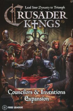 CRUSADER KINGS -  COUNCILORS & INVENTIONS EXPANSION (ENGLISH)