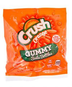 CRUSH -  GUMMY SODA BOTTLES - ORANGE (4.5 OZ)