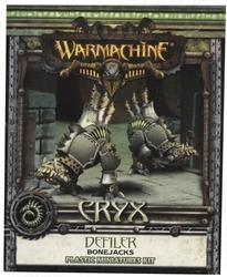 CRYX -  DEFILER - BONEJACKS (PLASTIC) -  WARMACHINE