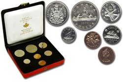 CUSTOM SETS -  1972 CUSTOM SET -  1972 CANADIAN COINS 02