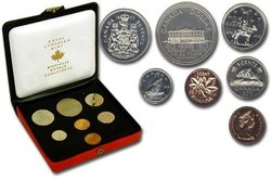 CUSTOM SETS -  1973 CUSTOM SET - SMALL BUST -  1973 CANADIAN COINS 03
