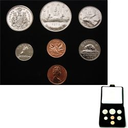 CUSTOM SETS -  1978 CUSTOM SET - ROUND JEWELS -  1978 CANADIAN COINS 08