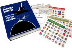 CWS WORLDWIDE -  THE PLANET EARTH - POSTAGE STAMP COLLECTING KIT