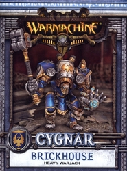 CYGNAR -  BRICKHOUSE - HEAVY WARJACK -  WARMACHINE