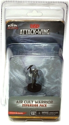 D&D MINIATURES -  AIR CULT WARRIOR EXPANSION PACK -  D&D ATTACK WING MINIATURES GAME