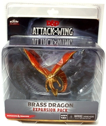 D&D MINIATURES -  BRASS DRAGON EXPANSION PACK -  D&D ATTACK WING MINIATURES GAME