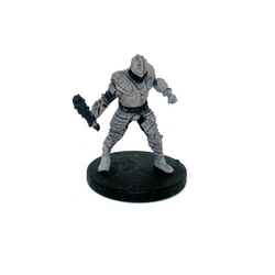D&D MINIATURES -  EARTH CULT WARRIOR EXPANSION PACK -  D&D ATTACK WING MINIATURES GAME
