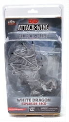 D&D MINIATURES -  WHITE DRAGON EXPANSION PACK -  D&D ATTACK WING MINIATURES GAME