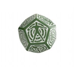D12 HIT LOCATION, GREEN AND WHITE