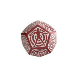 D12 HIT LOCATION, RED AND WHITE
