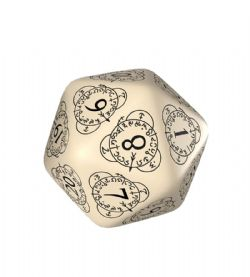 D20 LIFE COUNTER, BEIGE AND BLACK