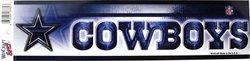 DALLAS COWBOYS -  BUMPER STICKER