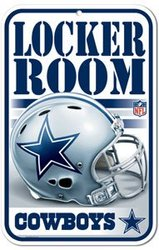 DALLAS COWBOYS -  LOCKER ROOM SIGN