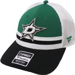 DALLAS STARS -  CAP - GREEN/BLACK/WHITE - ADJUSTBALE