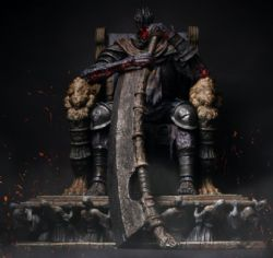 DARK SOULS -  YHORM 1:12 SCALE HIGH-END STATUE