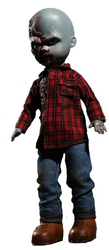 DAWN OF THE DEAD -  PLAID SHIRT ZOMBIE DOLL (10