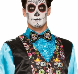 DAY OF THE DEAD -  BOW TIE