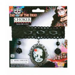 DAY OF THE DEAD -  CHOKER