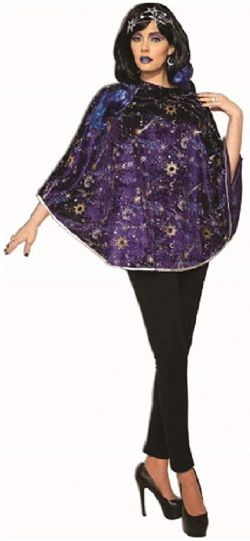 DAY OF THE DEAD -  PONCHO (ADULT - ONE SIZE)