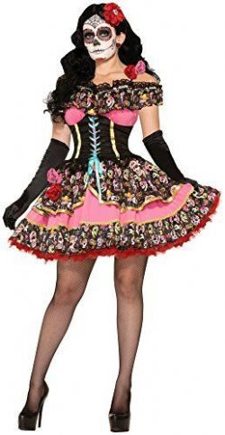 DAY OF THE DEAD -  SENORITA COSTUME (ADULT)