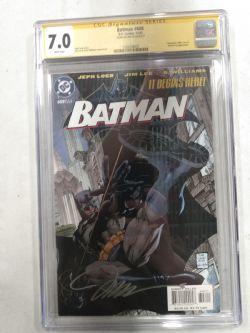 DC COMICS -  BATMAN #608 SIGNED BY JIM LEE - CGC 7.0