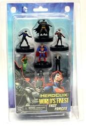 DC COMICS -  DC HEROCLIX : WORLD'S FINEST, FAST FORCES (ENGLISH) -  DC HEROCLIX