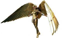 DC COMICS -  GOLDEN ARMOR WONDER WOMAN (DELUXE) SIXTH SCALE FIGURE -  HOT TOYS