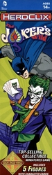 DC COMICS -  THE JOKER'S WILD BOOSTER PACK -  DC HEROCLIX