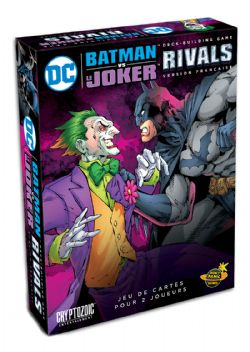 DC DECK-BUILDING GAME -  BATMAN VS THE JOKER (FRENCH) -  RIVALS