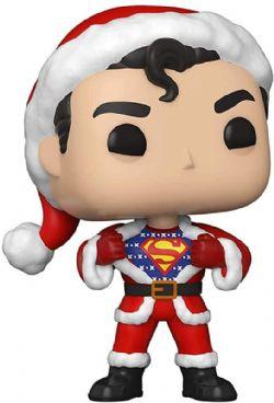 DC SUPER HEROES -  POP! VINYL FIGURE OF SUPERMAN IN HOLIDAY SWEATER (4 INCH) 353