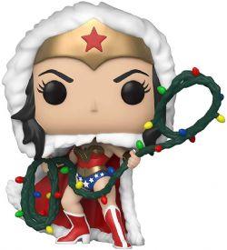 DC SUPER HEROES -  POP! VINYL FIGURE OF WONDER WOMAN WITH STRING LIGHT LASSO (4 INCH) 354