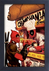 DEADPOOL -  CHIMICHANGAS PICTURE FRAME (13