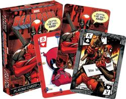 DEADPOOL -  PLAYING CARDS
