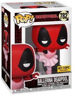 DEADPOOL -  POP! BOBBLE-HEAD OF DEADPOOL BALLERINA (4 INCH) -  30TH ANNIVERSARY 782